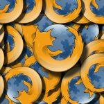 Firefox logo background
